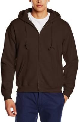 """Fruit of the Loom Mens Premium 70/30 Hooded Zip-Up Sweatshirt / Hoodie (2XL (Chest 47-49""""))"""