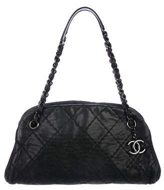 Chanel Small Just Mademoiselle Bowler Bag