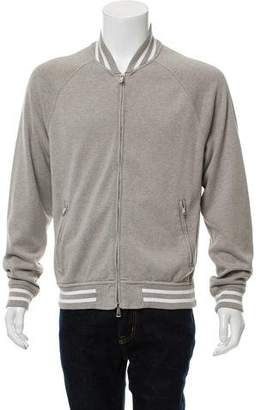 Ralph Lauren Black Label Woven Zip-Up Jacket