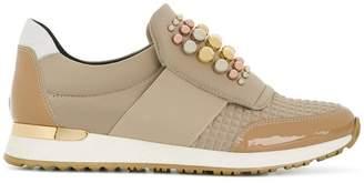 Baldinini embellished slip-on sneakers