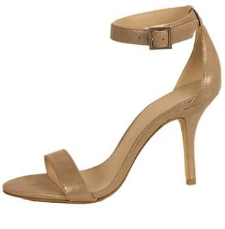 Pelle Moda Taupe Shimmer Heel
