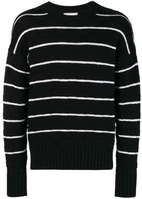 Ami Alexandre Mattiussi Striped Oversized Sweater