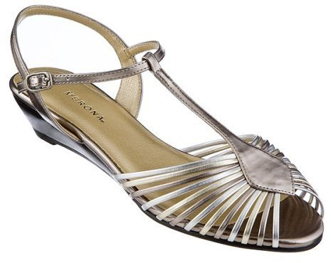 Women's Merona® Wyomia Strappy Sandals - Metallic