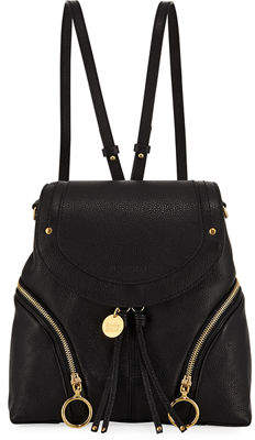 See by Chloe Olga Zip-Side Leather Backpack