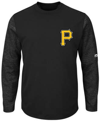 Majestic Men's Pittsburgh Pirates Ac On-Field Tech Fleece Pullover