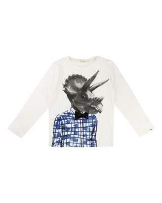 Billiebandit Dino-Man Graphic T-Shirt, Size 4-8 $42 thestylecure.com