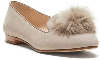 33408d17e91 Louise et Cie Andres Genuine Rabbit Fur Pom Loafer