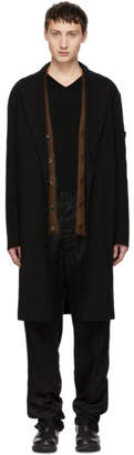 Robert Geller Black The Marcel Coat