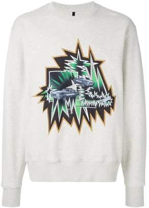Versus printed design sweatshirt