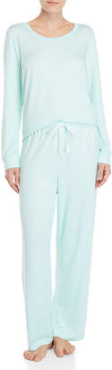 Company Ellen Tracy Two-Piece Long Sleeve Pajama Set