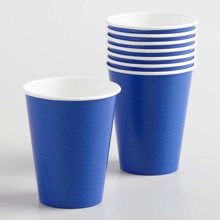 Dark Blue Cups Set of 2