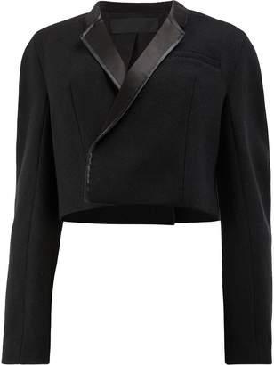 Haider Ackermann cropped oversized jacket