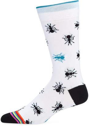 Bugatchi Men's Ant Socks