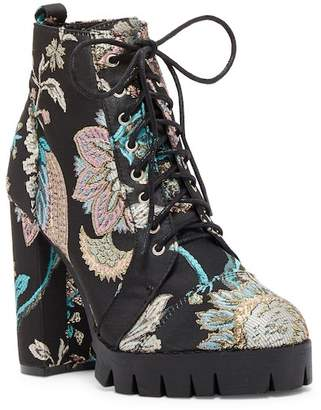 SoMe Harlow Lace-Up Platform Combat Boot