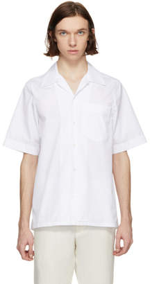 Marni White Short Sleeve Sport Shirt