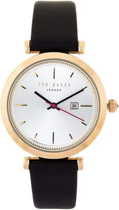 Ted Baker TE10031522 Black & Gold-Tone Watch