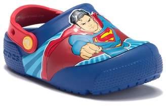 8ffb1b882fa01 Crocs Crocband Superman Lights Clog (Toddler & Little ...