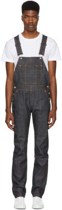 Naked & Famous Denim Denim Blue Twill Selvedge Denim Overalls