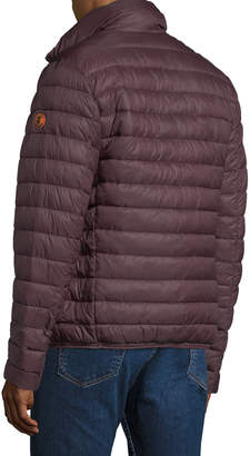 Save The Duck Men's Quilted Puffer Jacket