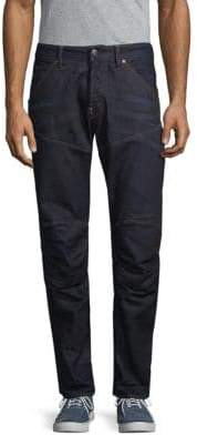 G Star Knee-Patch Straight Jeans