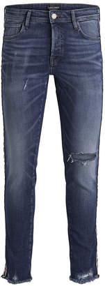 Jack and Jones Glenn Cropped Jeans