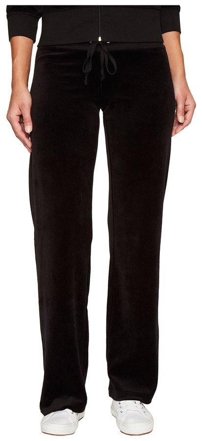 Juicy Couture Juicy Couture - Mar Vista Velour Pants Women's Casual Pants