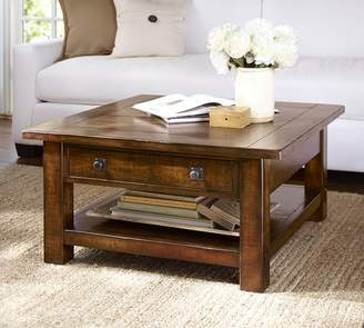 Pottery Barn Benchwright Square Coffee Table