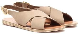 Ancient Greek Sandals Maria nubuck leather sandals