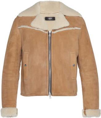 Amiri Western Shearling Jacket