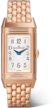 Jaeger-LeCoultre Reverso One Duetto Moon 20mm Rose Gold Diamond Watch