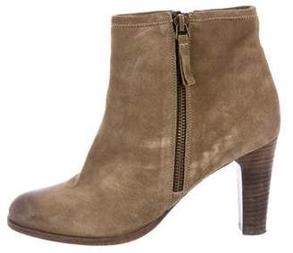 NDC Suede Round-Toe Booties