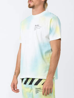 Off-White Off White The webster x exclusive airbrush tee-shirt