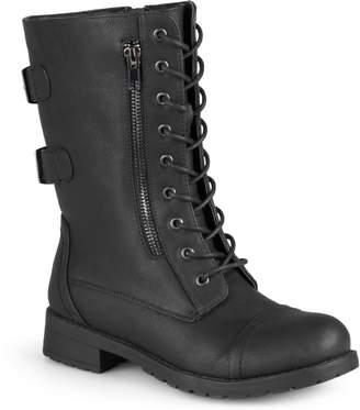 SO® Sugarmaple Women's Combat ... Boots ZHNHDdLNqH