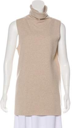 The Row Wool & Cashmere-Blend Top