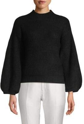 Cabernet Blouson Sleeve Sweater