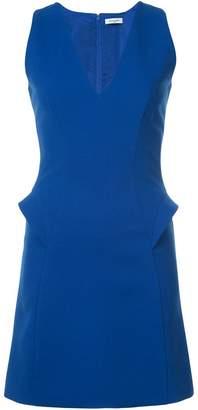Thierry Mugler v-neck shift dress