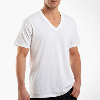 Hanes Men's FreshIQ ComfortSoft V-Neck Undershirt 4-Pack