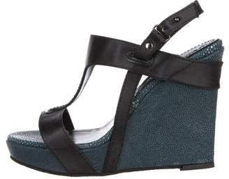34e6c58db95 Celine Platform Wedge Women s Sandals - ShopStyle