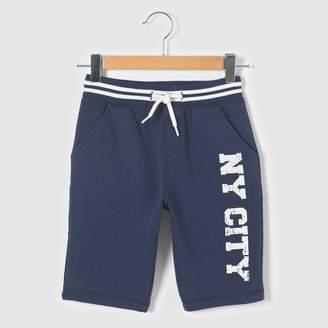 La Redoute Collections NY Fleece Bermuda Shorts, 3-12 Years