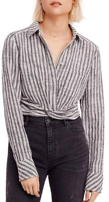 Free People Lust For Life Striped Shirt