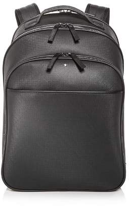 Montblanc Embossed Leather Backpack