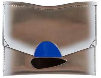Proenza Schouler Leather Curl Clutch w/ Tags