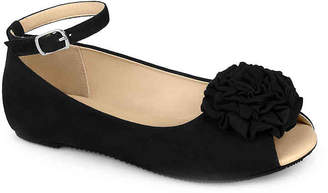 Journee Collection Fleur Toddler & Youth Flat - Girl's
