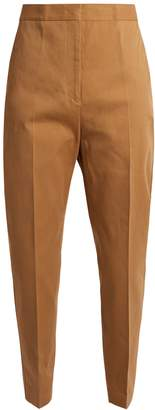 Jil Sander Attila cropped cotton trousers