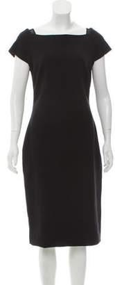 Charles Chang-Lima Midi- A-Line Dress