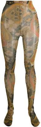Richard Quinn paisley print tights