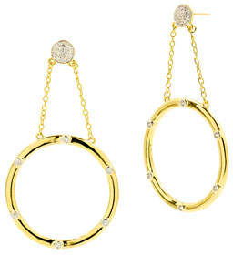 Freida Rothman Radiance Large Drop Earrings