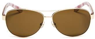 Kate Spade Polarized Dalia Sunglasses, 58mm