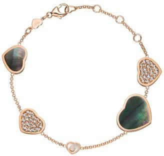 Chopard Happy Hearts Pavé Bracelet