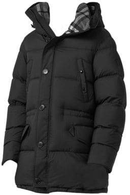 Burberry Hartson Hooded Down Puffer Coat